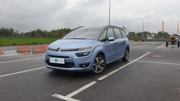2014 Citroen C4 Grand Picasso - front-left exterior