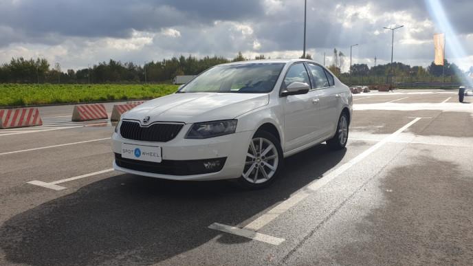 2015 Skoda Octavia - front-left exterior