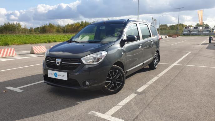 2017 Dacia Lodgy - front-left exterior