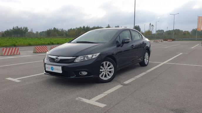 2015 Honda Civic - front-left exterior