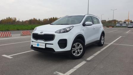 2016 Kia Sportage - front-left exterior