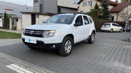 2016 Dacia Duster - front-left
