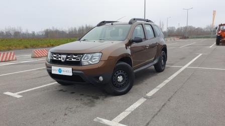 2014 Dacia Duster - front-left exterior