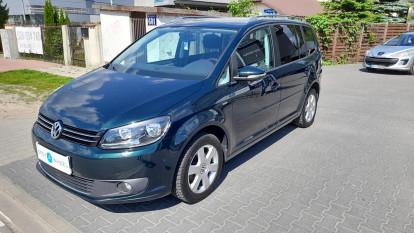 2014 Volkswagen Touran - front-left exterior