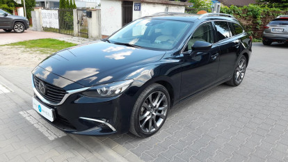 2015 Mazda 6 - front-left exterior