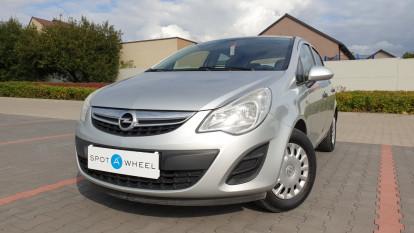 2013 Opel Corsa - front-left exterior