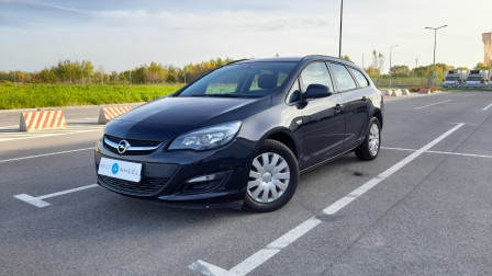 2014 Opel Astra - front-left exterior