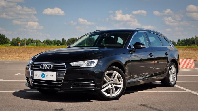 2016 Audi A4 - front-left exterior