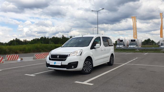 2016 Peugeot Partner - front-left exterior