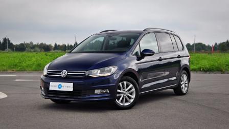 2016 Volkswagen Touran - front-left exterior