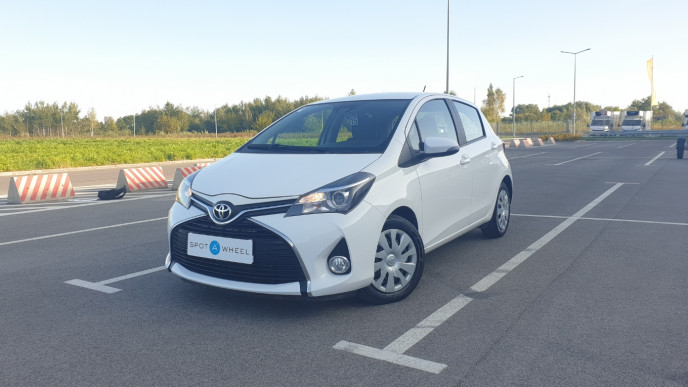2016 Toyota Yaris - front-left exterior