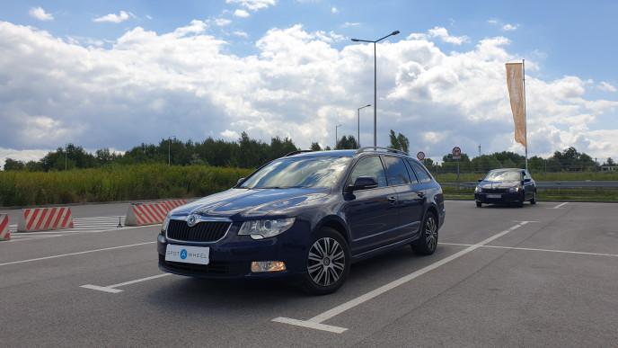 2011 Skoda Superb - front-left exterior