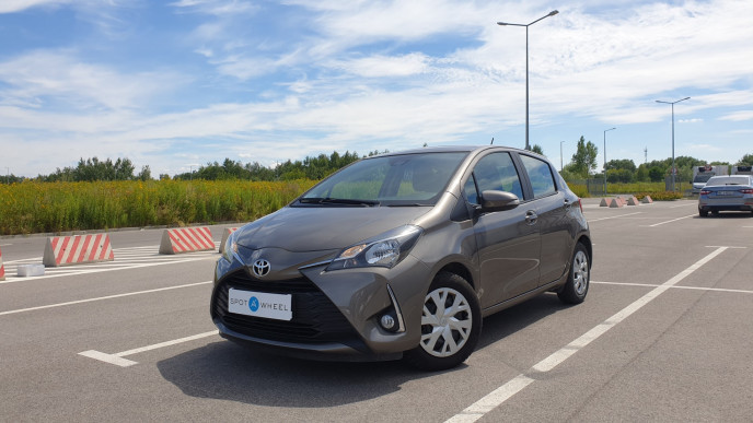 2018 Toyota Yaris - front-left exterior