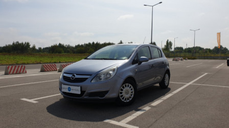 2010 Opel Corsa - front-left exterior