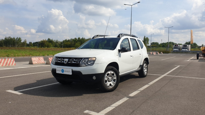 2015 Dacia Duster - front-left exterior