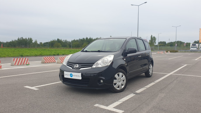 2012 Nissan Note - front-left exterior