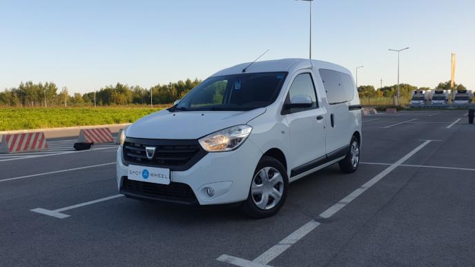 2017 Dacia Dokker - front-left exterior