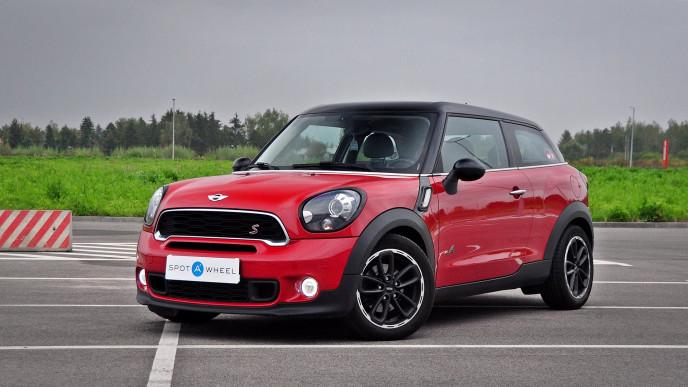 2015 Mini Paceman - front-left exterior